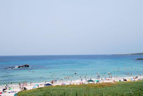 角島しおかぜコバルトブルービーチ