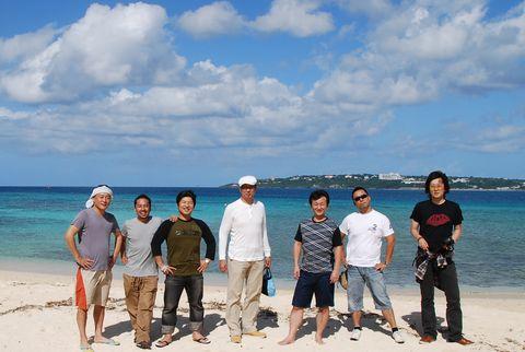 沖縄旅行メンバー