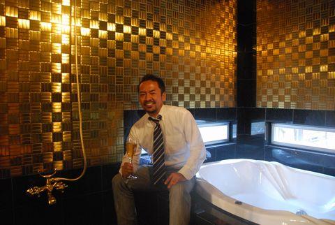 黄金の茶室