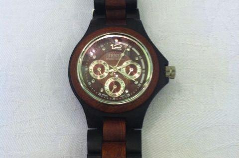 木製腕時計(TENSE)