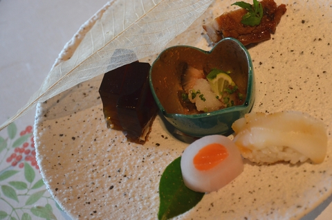 烏賊炙り寿司