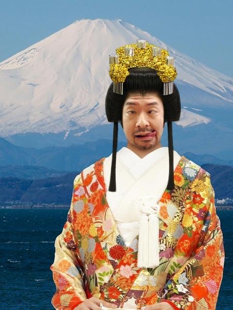 富士山、2014年登頂予定です。 こちらも合成写真