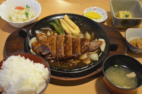 松阪牛ステーキ定食