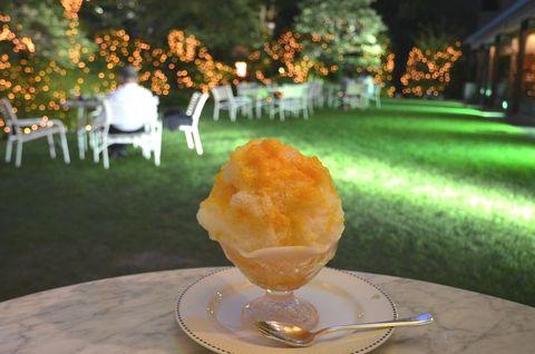 フレッシュマンゴーかき氷