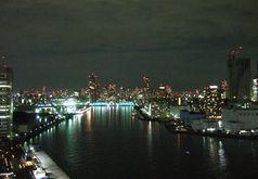 ホテルインターコンチネンタル東京ベイからの夜景