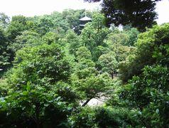 ホテル椿山荘の日本庭園