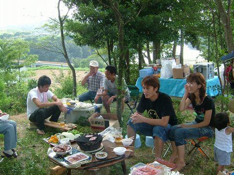 小野湖でのBBQ