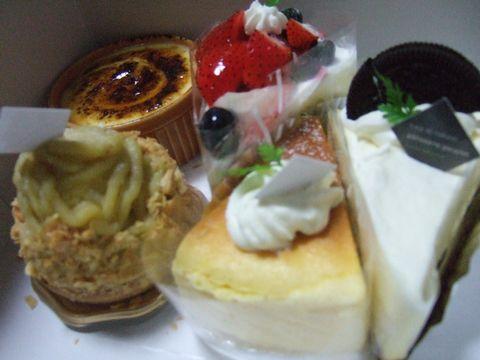 ププレのケーキ