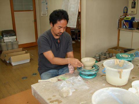 萩焼作陶体験
