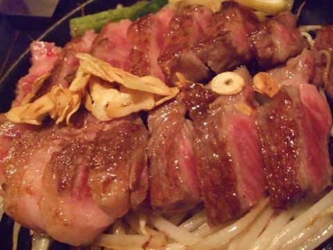 阿知須牛サーロインステーキ