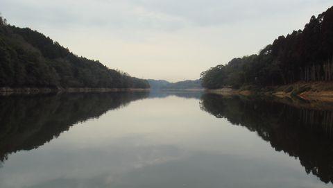 宇部市小野の小野湖